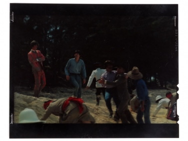 "Original 4×5 Kodachrome of The Beatles 1965 Movie ""Help"""