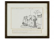 c1978 Original Pen & Ink Hamlyn Cartoon by Hector Breeze