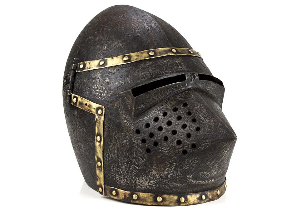 19th Century Victorian Copy of Medieval Bascinet Helmet