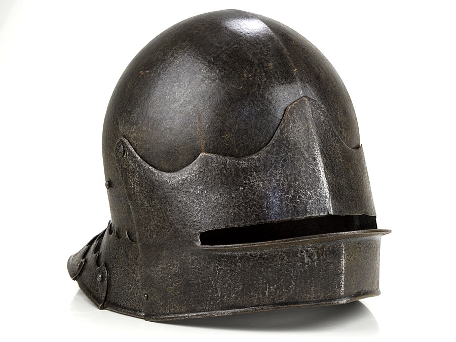 19th Century Victorian Copy of Medieval Sallet Helmet