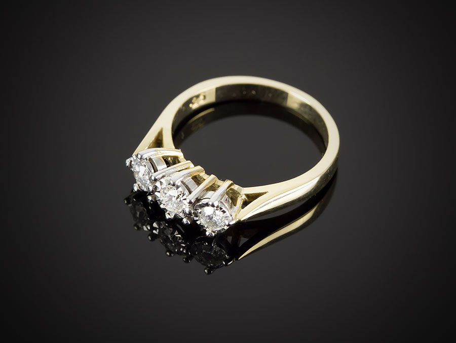 rings engagement tw diamond ring ct shop three p pav in pave platinum
