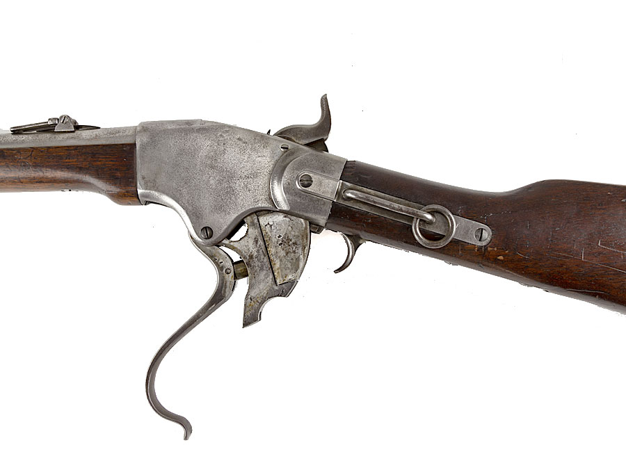 American Indian Wars M1865 Spencer 10th Cavalry Carbine : Parade