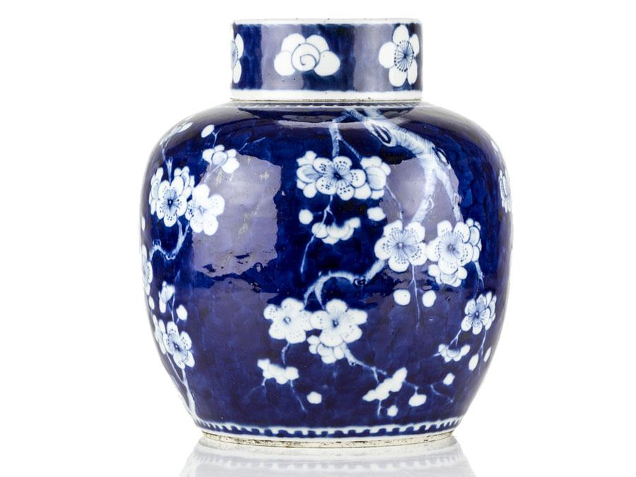 C1700 Chinese Kangxi Large Prunus Style Ginger Jar Parade Antiques Shop For Antiques Online