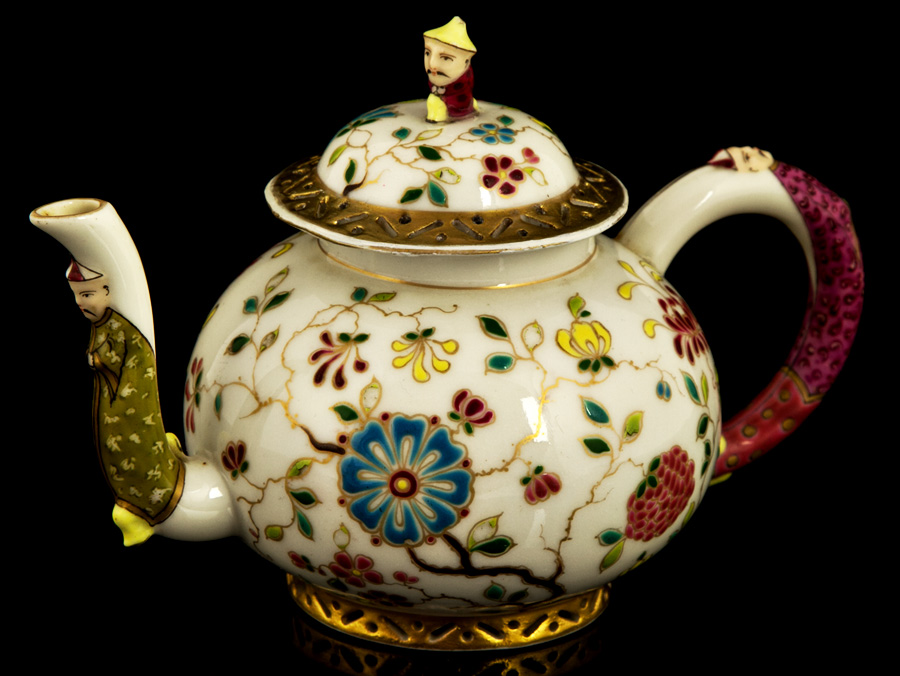 c1860 Bohemian Made Chinese Style Export Teapot : Parade ...