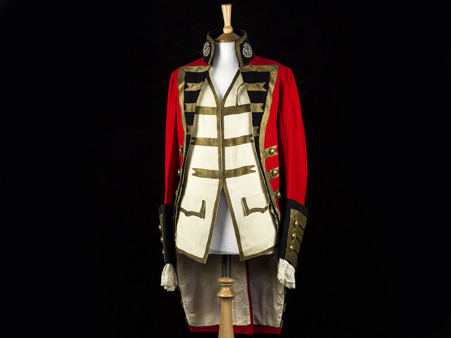 C1860 Victorian Royal Irish Regiment Officer Dress Uniform Parade