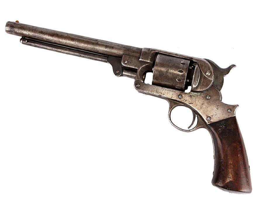 c1863 US Civil War Starr 44 Single Action Percussion Revolver