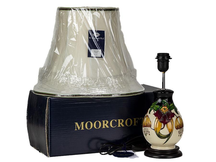 C2014 moorcroft pottery anna lily design table lamp parade c2014 moorcroft pottery anna lily design table lamp aloadofball Choice Image