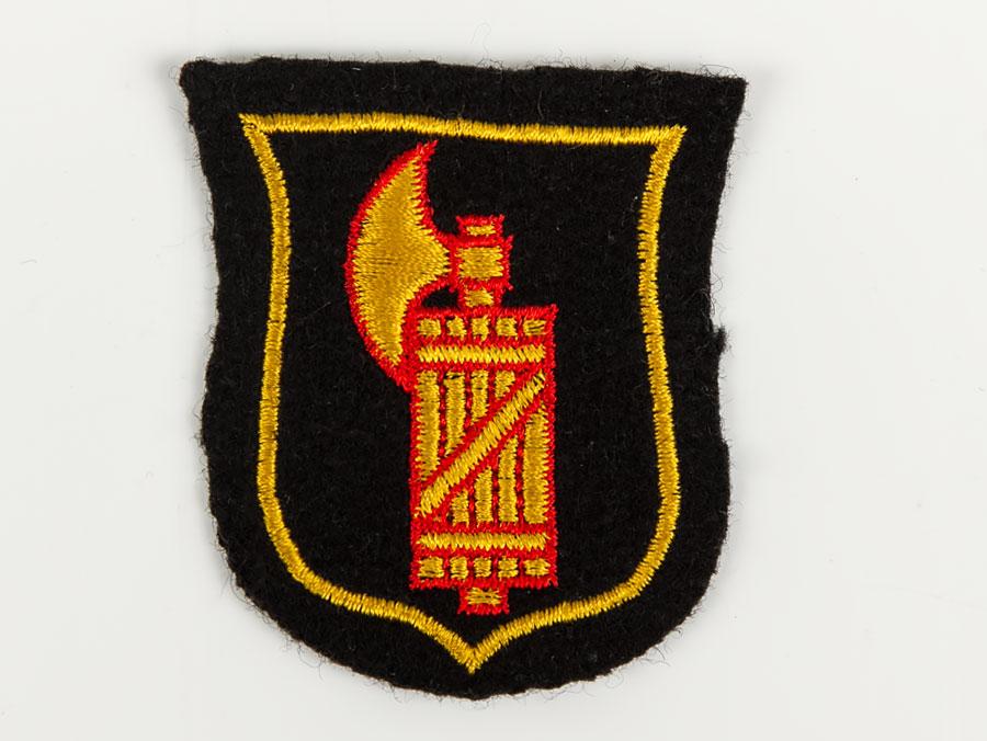 Wwii German Waffen Ss Italian Volunteers Arm Shield Parade